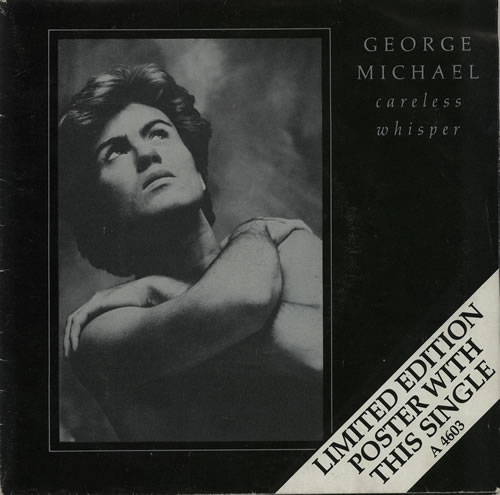 "George Michael Careless Whisper - Poster Sleeve - EX 7"" vinyl single (7 inch record) UK GEO07CA132870"