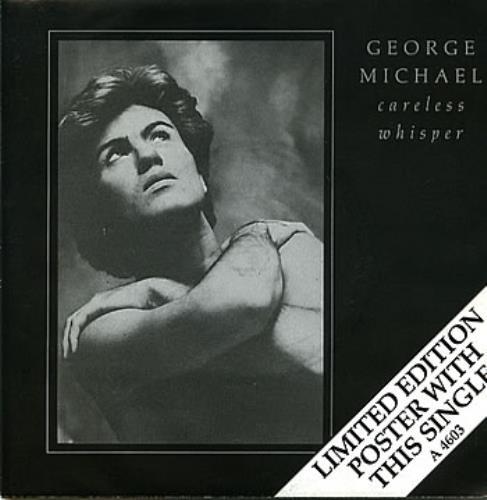 George Michael Careless Whisper Poster Sleeve Uk 7