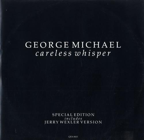 "George Michael Careless Whisper - P/S 12"" vinyl single (12 inch record / Maxi-single) UK GEO12CA01937"
