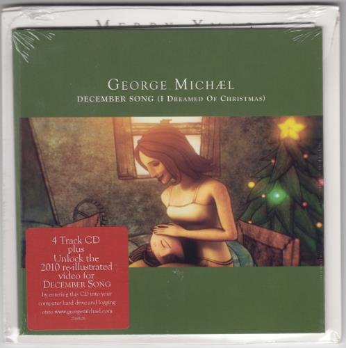 "George Michael December Song (I Dreamed Of Christmas) - 2nd Issue CD single (CD5 / 5"") UK GEOC5DE655811"