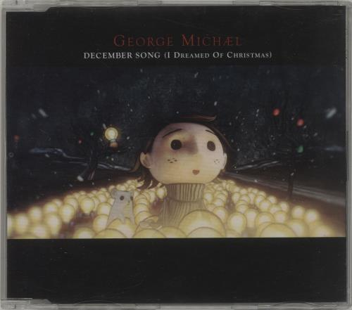 "George Michael December Song (I Dreamed Of Christmas) CD single (CD5 / 5"") UK GEOC5DE678526"
