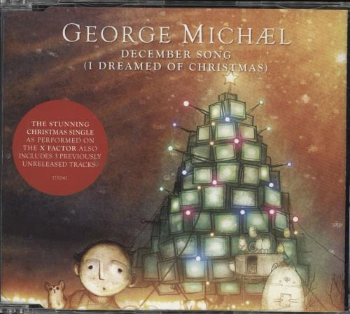 "George Michael December Song [I Dreamed Of Christmas] CD single (CD5 / 5"") UK GEOC5DE494171"