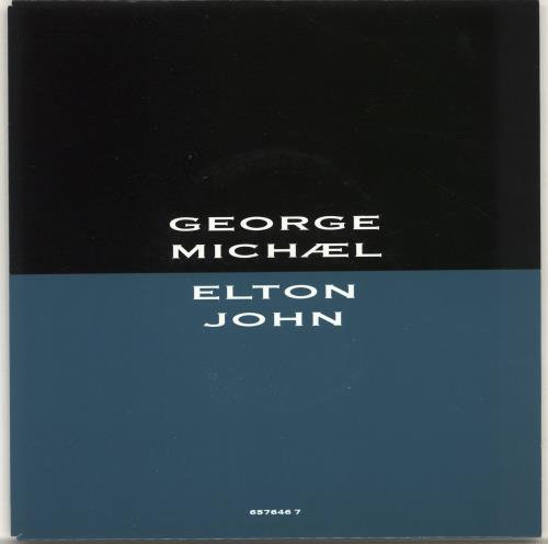 "George Michael Dont Let The Sun Go Down On Me - Wide 7"" vinyl single (7 inch record) UK GEO07DO701993"