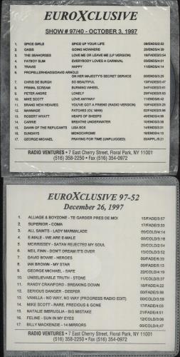 George Michael EuroXclusive - 13 Disc's CD album (CDLP) US GEOCDEU664324