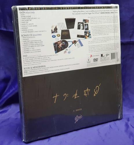 George Michael Limited Edition CD Platinum LP Disc Faith