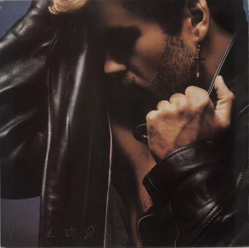 George Michael Faith - EX vinyl LP album (LP record) UK GEOLPFA680597