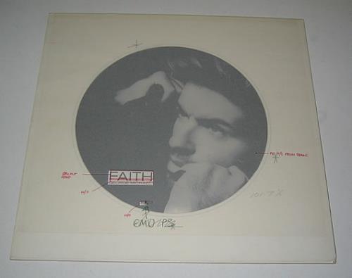 George Michael Faith artwork UK GEOARFA336735