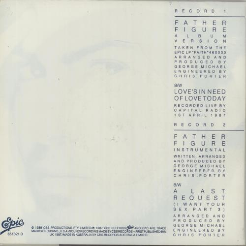 George Michael Father Figure Double Pack Australian 7 Vinyl Single 7 Inch Record 6542,Furnishing A New Home
