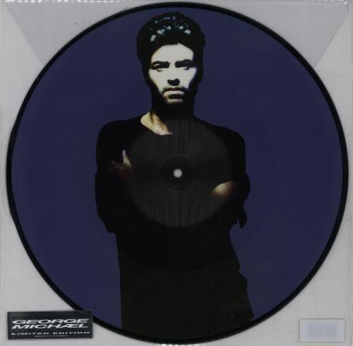 "George Michael Freedom! '90 - 25th Anniversary 12"" vinyl picture disc 12inch picture disc record UK GEO2PFR644691"