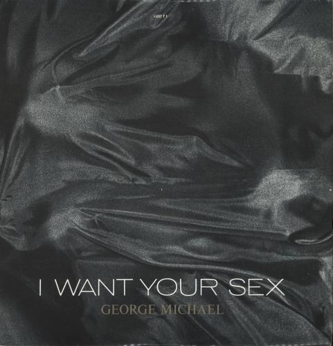 "George Michael I Want Your Sex 12"" vinyl single (12 inch record / Maxi-single) UK GEO12IW14153"