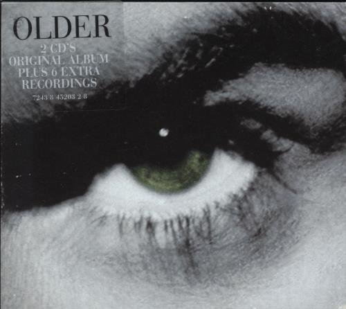 George Michael Older & Upper 2 CD album set (Double CD) UK GEO2COL99681