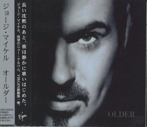 George Michael Older Japanese Cd Album Cdlp 56968