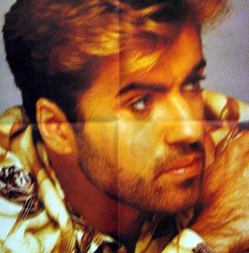 "George Michael One More Try + Poster 12"" vinyl single (12 inch record / Maxi-single) UK GEO12ON09607"