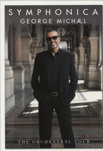 George Michael Symphonica Uk Poster 645776