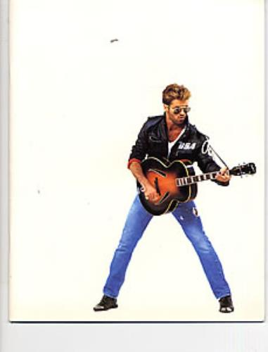 George Michael The Faith Tour tour programme UK GEOTRTH11463