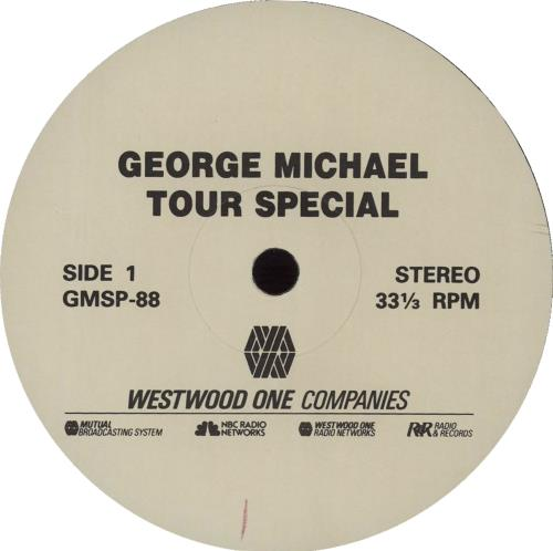 George Michael Tour Special vinyl LP album (LP record) US GEOLPTO149490