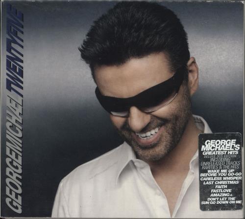 George Michael Twenty Five 3-CD album set (Triple CD) UK GEO3CTW378072