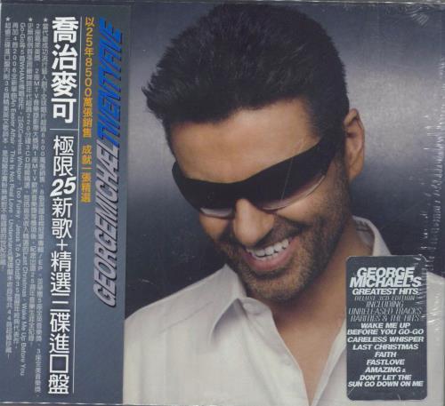 George Michael Twenty Five Taiwanese 3-CD album set (Triple