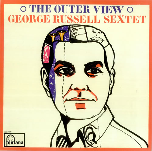 George Russell The Outer View vinyl LP album (LP record) UK 0GRLPTH446762