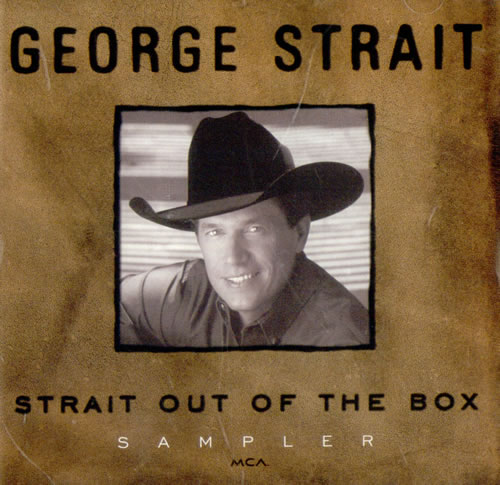 George Strait Strait Out Of The Box Sampler Us Promo Cd