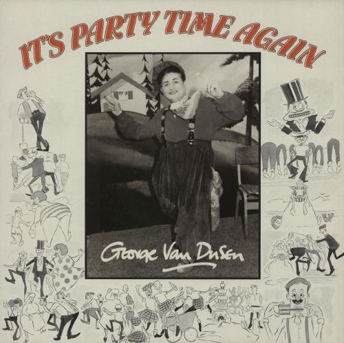 George Van Dusen It's Party Time Again vinyl LP album (LP record) UK IZ2LPIT660612