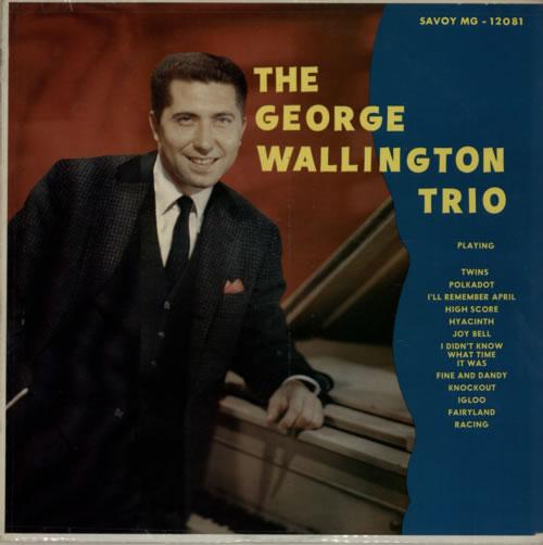 George Wallington The George Wallington Trio vinyl LP album (LP record) US GWGLPTH587593