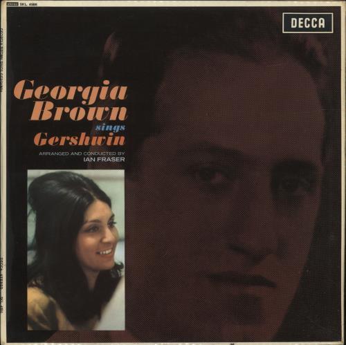 Georgia Brown Georgia Brown Sings Gershwin vinyl LP album (LP record) UK 3GBLPGE699078