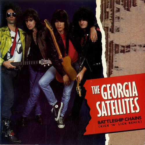 "Georgia Satellites Battleship Chains 7"" vinyl single (7 inch record) UK GSA07BA600577"