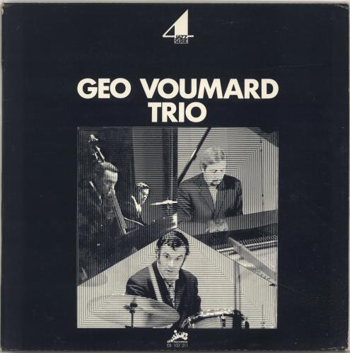 Geo Voumard Jazz Serie 4 vinyl LP album (LP record) French QMOLPJA699511