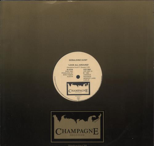 "Geraldine Hunt Can't Fake The Feeling 12"" vinyl single (12 inch record / Maxi-single) UK Z1T12CA722722"