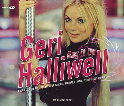 "Geri Halliwell Bag It Up CD single (CD5 / 5"") UK G-RC5BA244954"