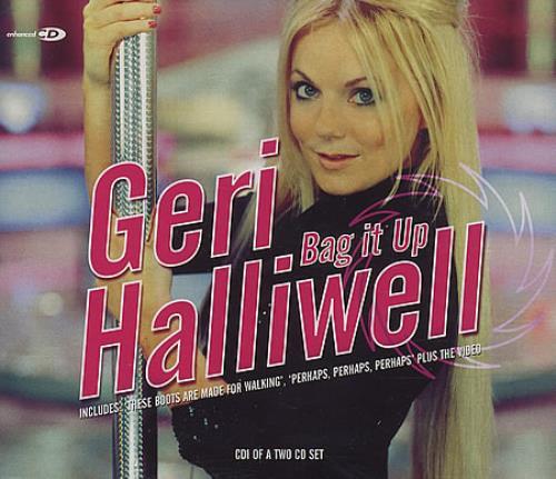 "Geri Halliwell Bag It Up CD single (CD5 / 5"") UK G-RC5BA388307"