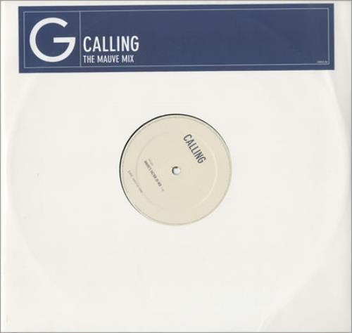 "Geri Halliwell Calling - The Mauve Mix 12"" vinyl single (12 inch record / Maxi-single) UK G-R12CA200779"