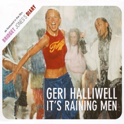 "Geri Halliwell It's Raining Men CD single (CD5 / 5"") UK G-RC5IT181335"
