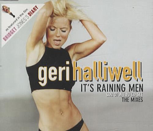 Geri Halliwell It's Raining Men 2-CD single set (Double CD single) UK G-R2SIT183577
