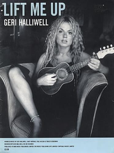 Geri Halliwell Lift Me Up sheet music UK G-RSMLI351862