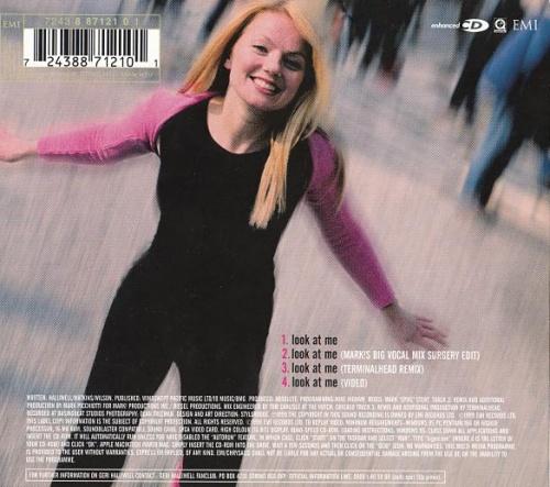 "Geri Halliwell Look At Me - Enhanced CD + Prints CD single (CD5 / 5"") UK G-RC5LO136700"