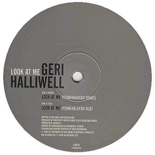 "Geri Halliwell Look At Me - Terminalhead Mixes 12"" vinyl single (12 inch record / Maxi-single) UK G-R12LO136622"