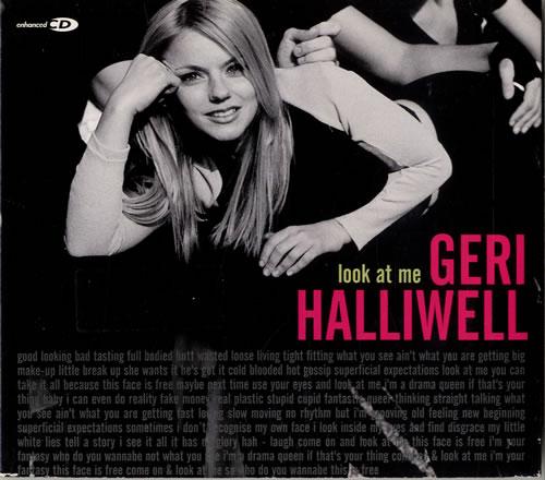 Geri Halliwell Look At Me 2-CD single set (Double CD single) UK G-R2SLO136217