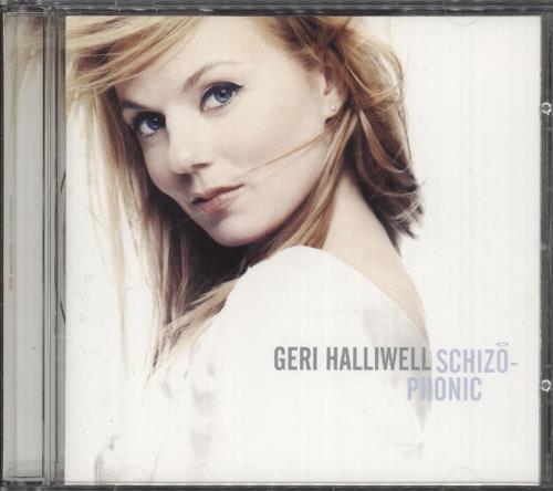Geri Halliwell Schizophonic - White Sleeve CD album (CDLP) UK G-RCDSC215464