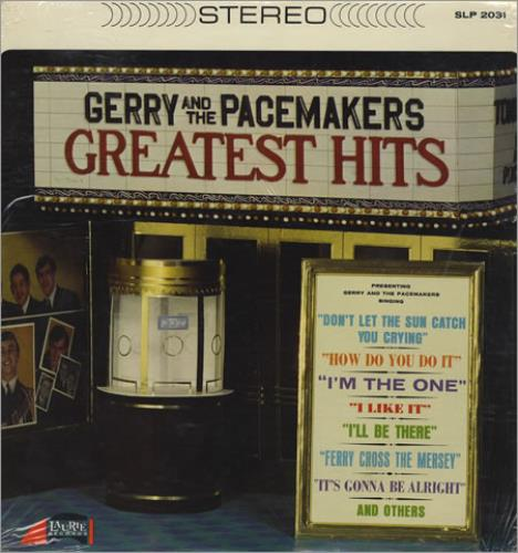 Gerry And The Pacemakers Greatest Hits Us Vinyl Lp Album