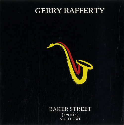 "Gerry Rafferty Baker Street (Remix) 7"" vinyl single (7 inch record) UK GER07BA625453"