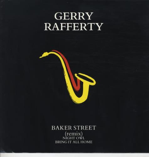 "Gerry Rafferty Baker Street (Remix) 12"" vinyl single (12 inch record / Maxi-single) UK GER12BA64681"