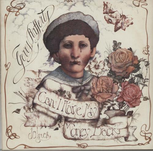Gerry Rafferty Can I Have My Money Back? vinyl LP album (LP record) US GERLPCA264497