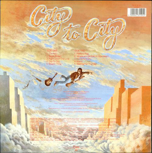 Gerry Rafferty City To City vinyl LP album (LP record) UK GERLPCI232029