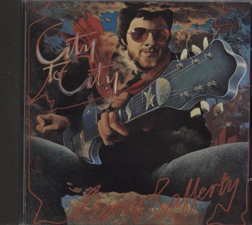 Gerry Rafferty City To City CD album (CDLP) UK GERCDCI674137