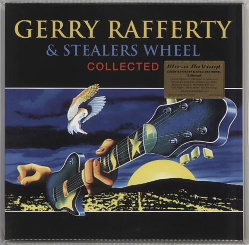 Gerry Rafferty Collected - 180gm Vinyl + Numbered 2-LP vinyl record set (Double Album) UK GER2LCO714867