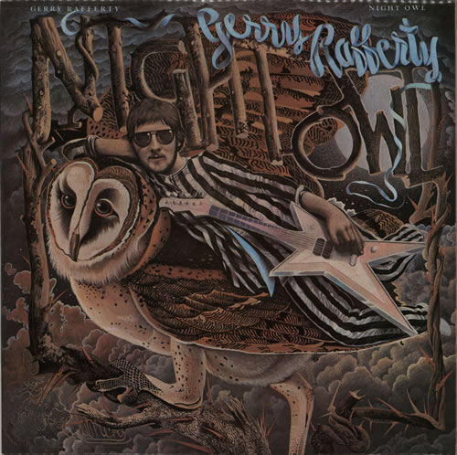 Gerry Rafferty Night Owl vinyl LP album (LP record) French GERLPNI593029