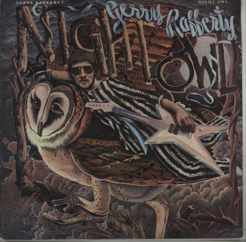 Gerry Rafferty Night Owl vinyl LP album (LP record) Australian GERLPNI671135
