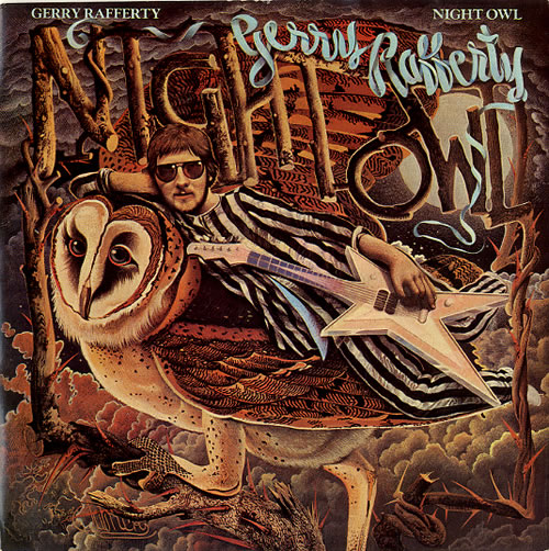 "Gerry Rafferty Night Owl 7"" vinyl single (7 inch record) UK GER07NI83497"
